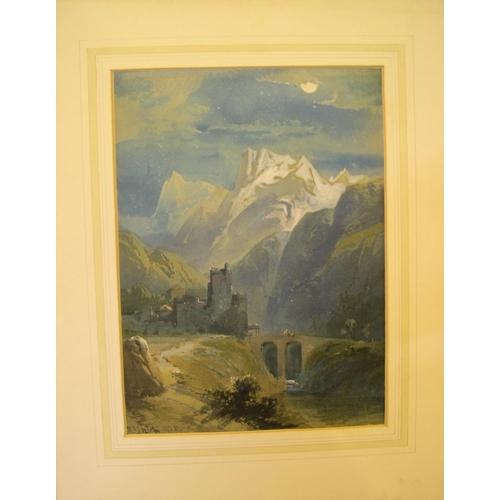783 - Richard Principal Leitch (c1800-c1880) watercolour