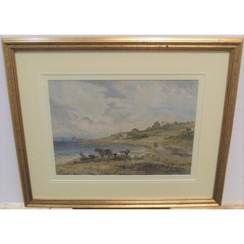 711 - Henry James Holding (1833-1872) 1868 watercolour