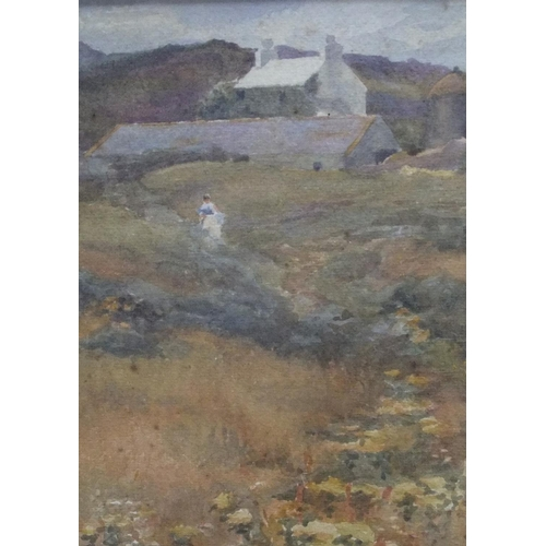 714 - Attributed to G M Salthouse, 1907 impressionist watercolour