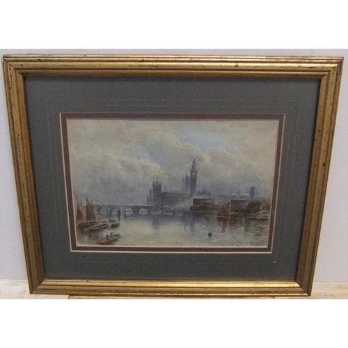 774 - 3 Framed Edwardian watercolours by 3 different artists  Average size is 12 x 20 cm  All 3 are in gen...