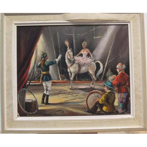 796 - Barbara Gudrun SIBBONS (born 1925) oil on canvas,