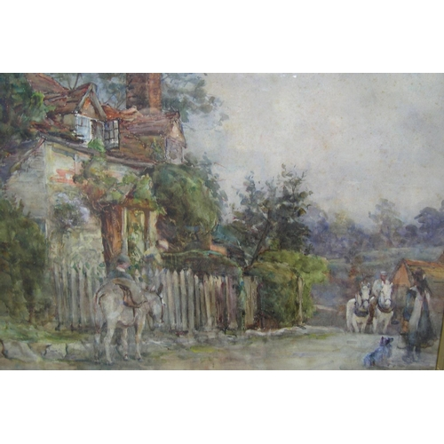 728 - Unsigned watercolour, circa 1900