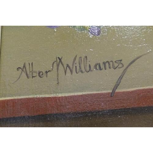 798 - Large, Albert WILLIAMS (1874-1955) oil on board