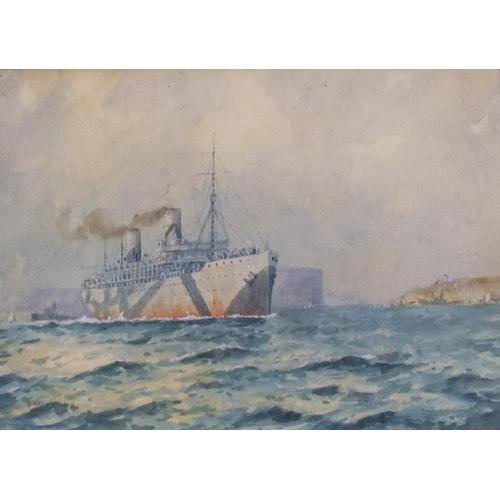 811 - J Allcot 1917 watercolour