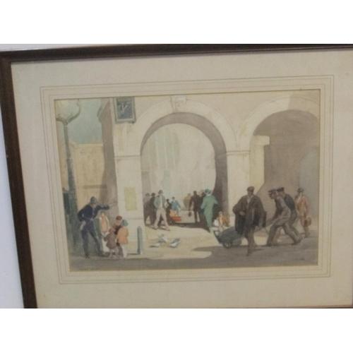 812 - Joseph Milner (1888-1969) watercolour