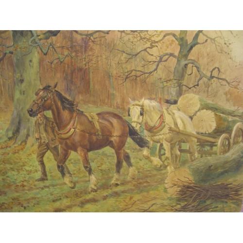 602 - George Derville ROWLANDSON (1861-1930) watercolour