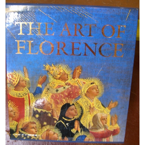 509 - boxed, 2 volumes, The art of Florence by Andres Hunisak Turner, published by Artabras  In fine, clea...