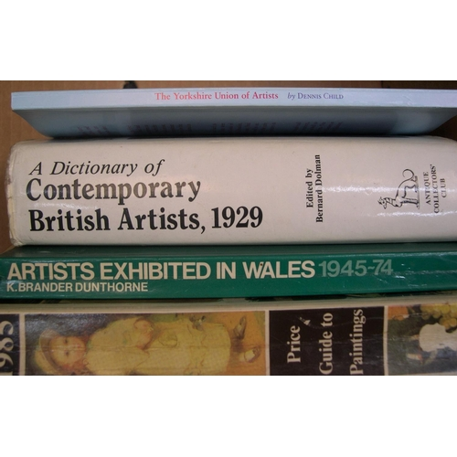 513 - 14 books on British art reference including - Scottish Painters 1620-1900, Royal Society of Artists,...