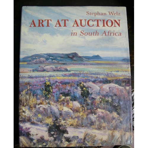 519 - Art at auction in South Africa by Stephan Welz and the Dictionary of South Africa Painters & Sculpto...