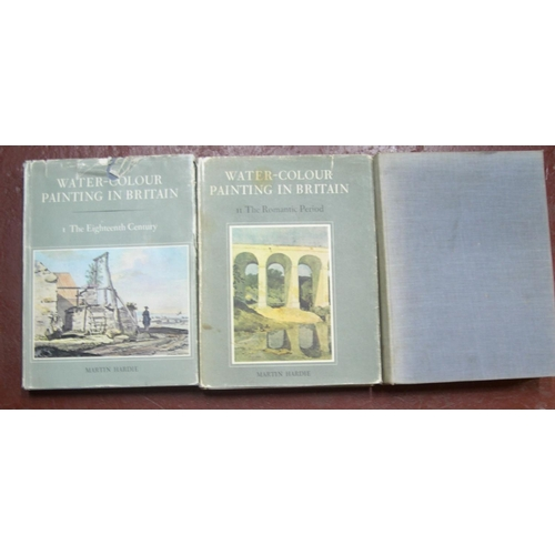 522 - Martin Hardie, Watercolour Painting in Britain, volumes 1, 2 & 3 (3)...