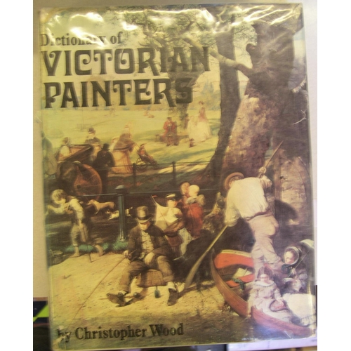 528 - 3 Christopher Wood (Collectors club) volumes on Victorian painters, including Dictionary of Victoria...