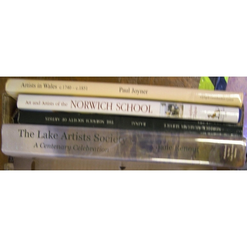 531 - 4 rare books on British art reference including, Lake Artists Society, Norwich Society of Artists, A...
