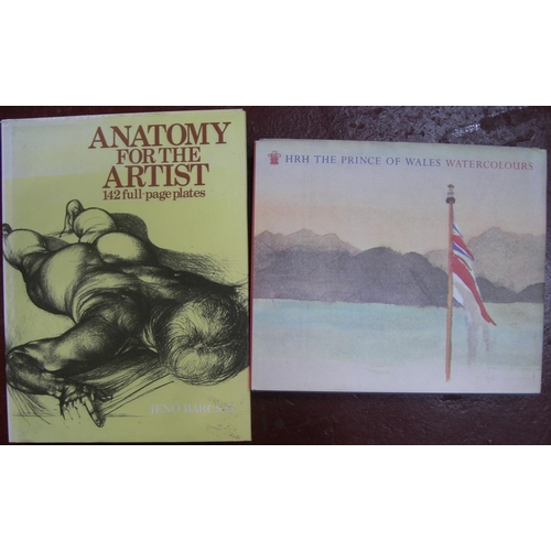 539 - 22 various books on art including, Southwold, an early paradise, the Power of the Poster, HRH Prince...