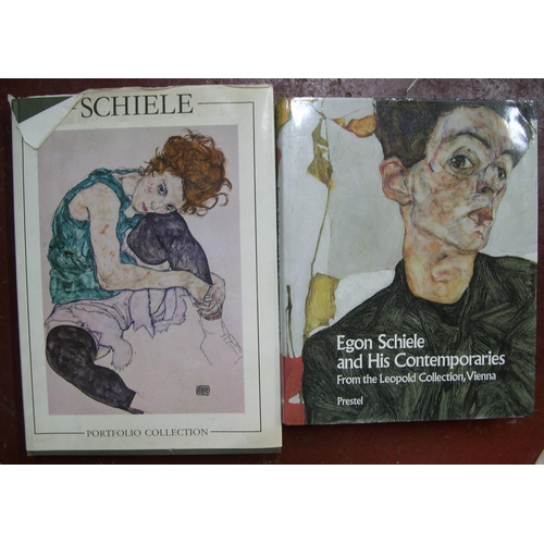 540 - 3 books on Picasso, 3 books on Egon Schiele & 2 on Paul Klee (8 in total)...