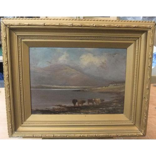 827 - Henry Hadfield Cubley (1858-1934) oil