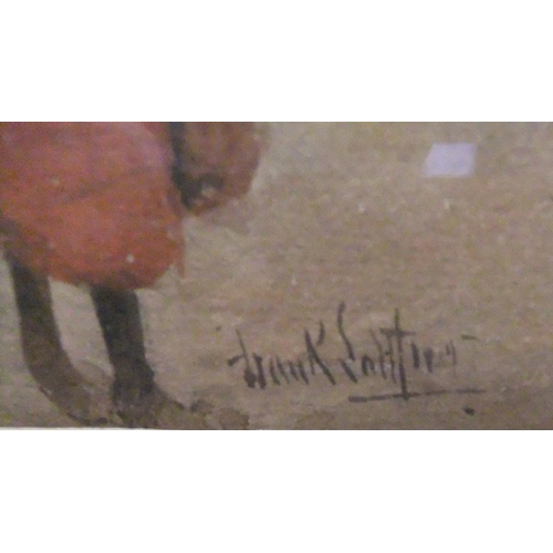 610 - Frank SALTFLEET (1860-1937) 1912 watercolour