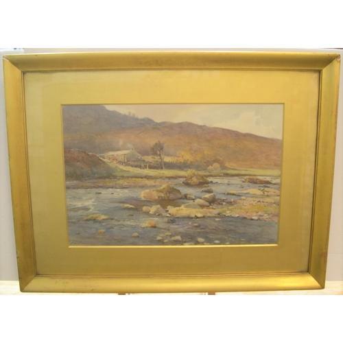694 - Charles William ADDERTON (1866-1944) watercolour