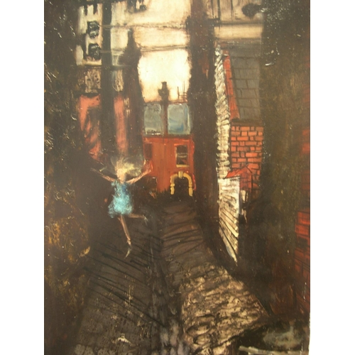 881 - Large, indistinctly signed 2002 Northern school oil on board,