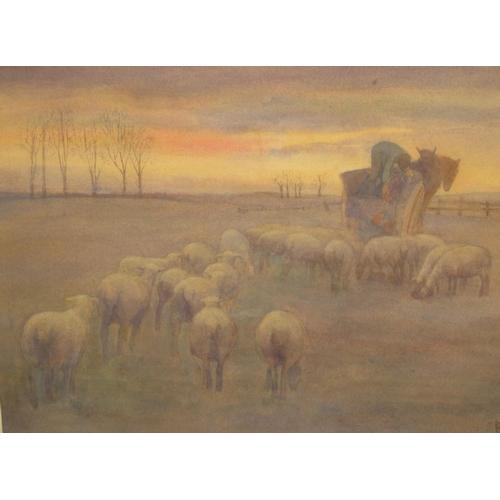745 - Dorothy Frances Hilton ARMS (act.c.1911-1914) watercolour