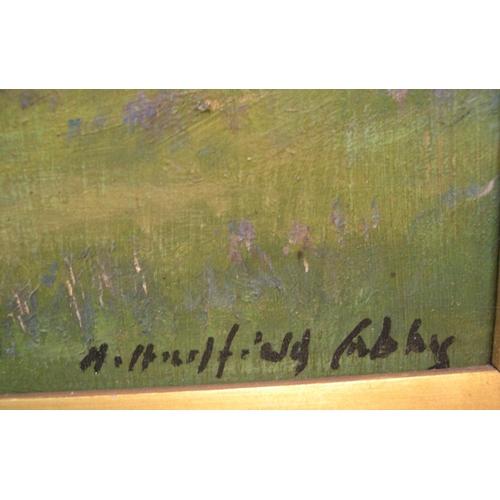 889 - Henry Hadfield CUBLEY (1858-1934) 1927 oil on board,