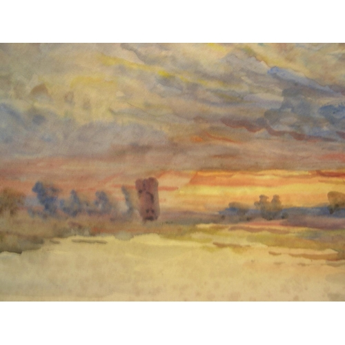 832 - Unsigned, early 20thC impressionist watercolour