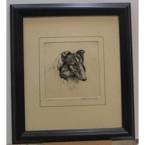485 - Ronald Basil Emsley WOODHOUSE (1897-?) etching