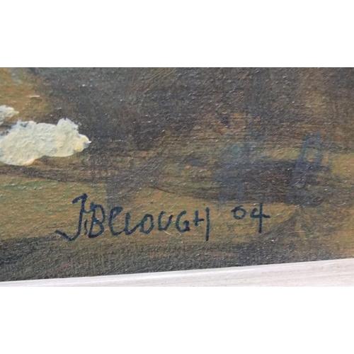 456 - John B Clough 2004 oil on board,
