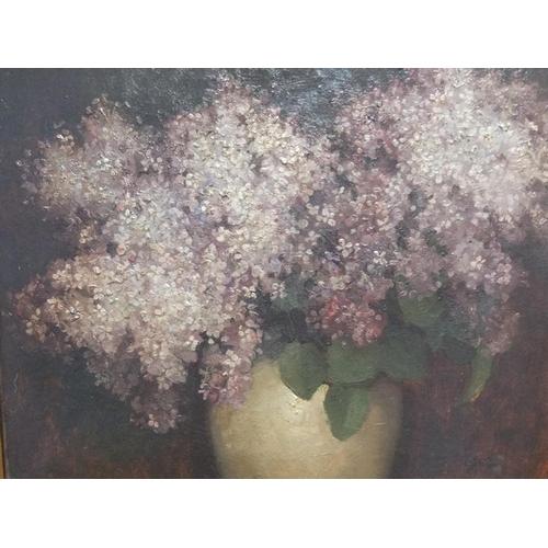 482 - Benjamin HAUGHTON (1865-1924) 1903 oil on canvas,