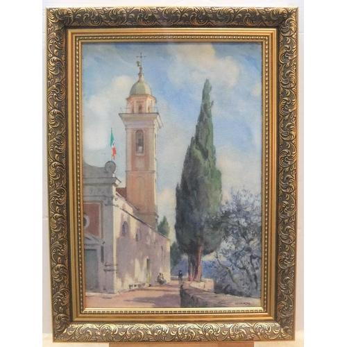 473 - Cecil G. Charles KING (1881-1942) watercolour
