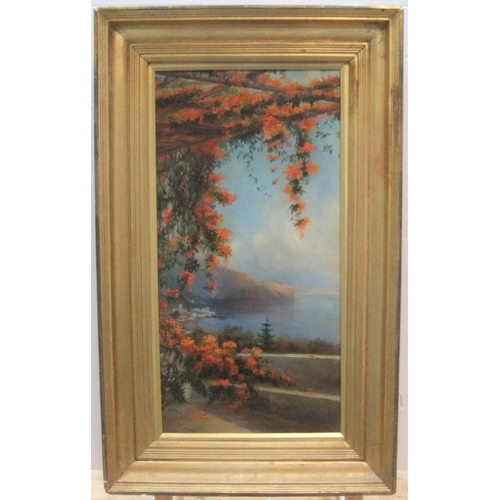474 - Unsigned, early 20thC oil on canvas,