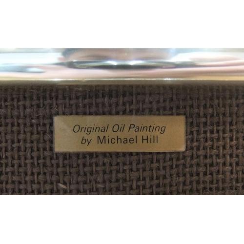 469 - Michael John HILL (born 1956) oil on board,