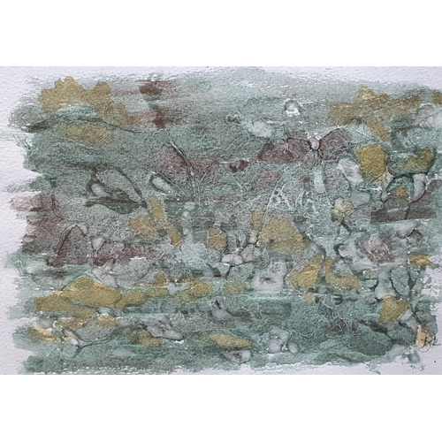 346 - 4 small watercolours, MM & odrawing including one by Dorothy Littlewood,  Ave size approx 22 x 24 cm...