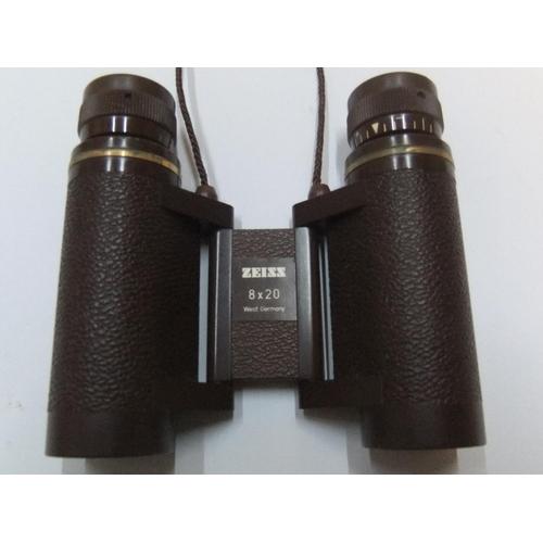 224 - 20thC pair of Zeiss Opera glasses' in original case...