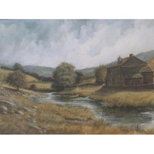 396 - Large Harry Fryers watercolour/gouache