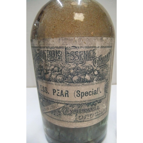 189 - 4 differing early 20thC Chemist bottles...