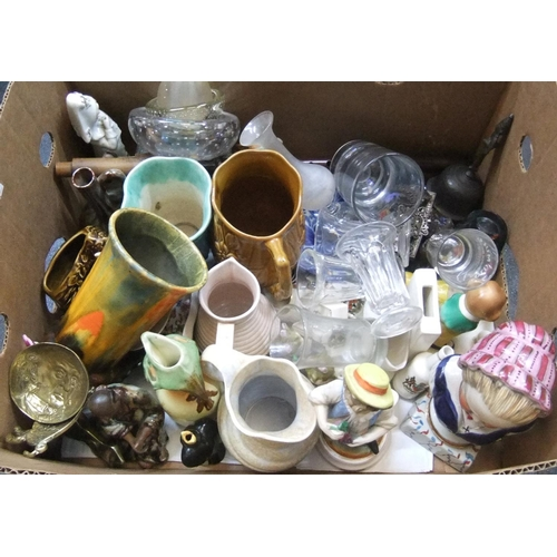 213 - Box of mixed collectables and ceramics (Qty)...