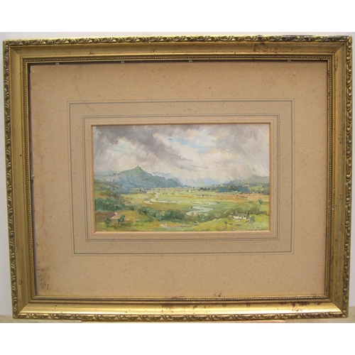 506 - B Westmorland impressionist oil on paper
