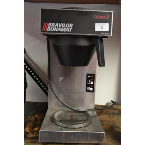8 - Bravilor Bonamat Novo2 coffee filter system...