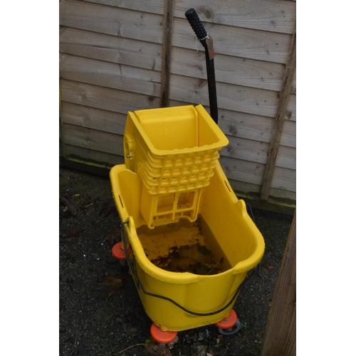 30 - Industrial mop bucket...