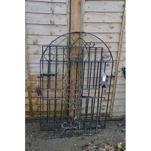 31 - Two garden gates, widths 66 & 84cm...