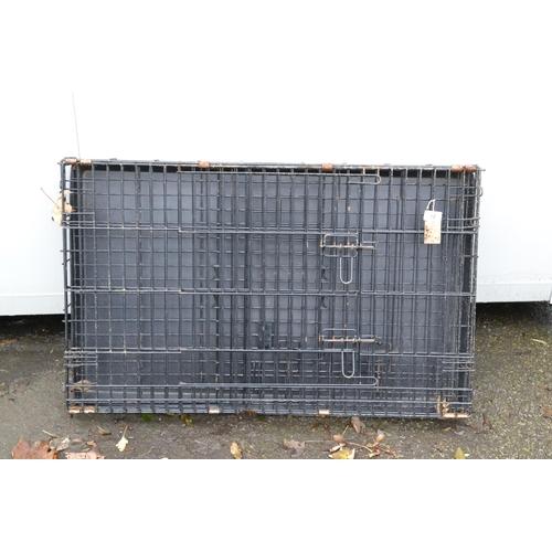 52 - Medium sized dog cage...