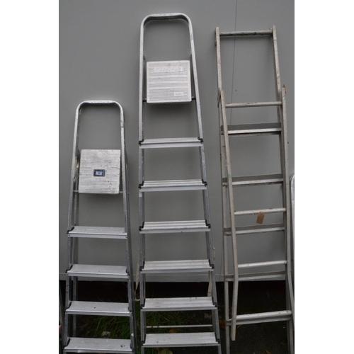 57 - 7-step step ladder...