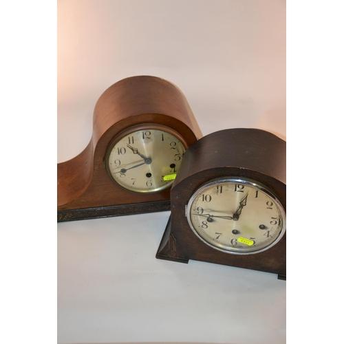 28 - Two mantle clocks...