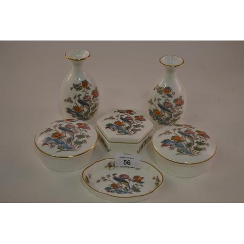 56 - Qty. of Wedgwood kutani ware pots etc....