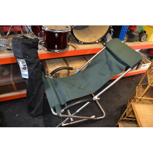 2 - 2 outdoor folding chairs...