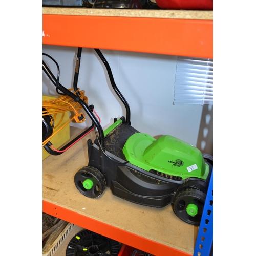 21 - Flora Best Turbo lawn mower...