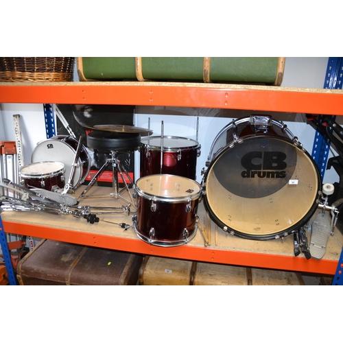 24 - CB full drum kit with muting kit...