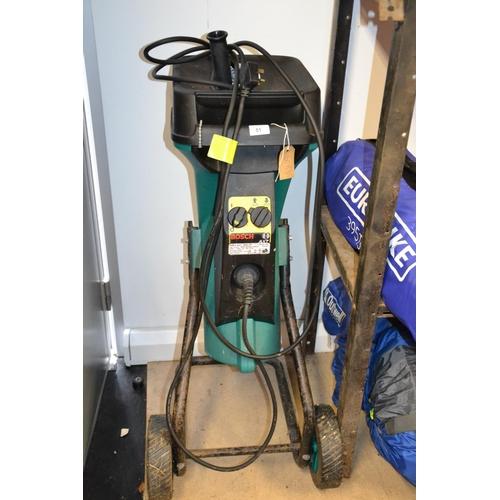 51 - Bosch AXT 1600HP Garden mulcher...