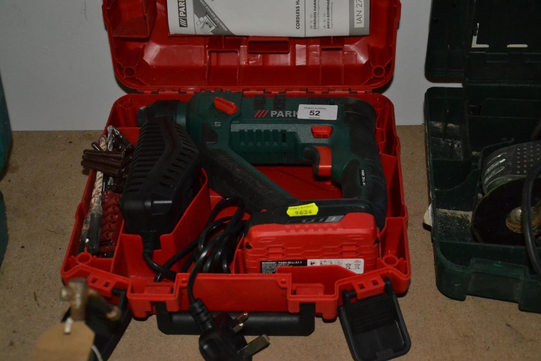 Parkside 20 v cordless hammer drill