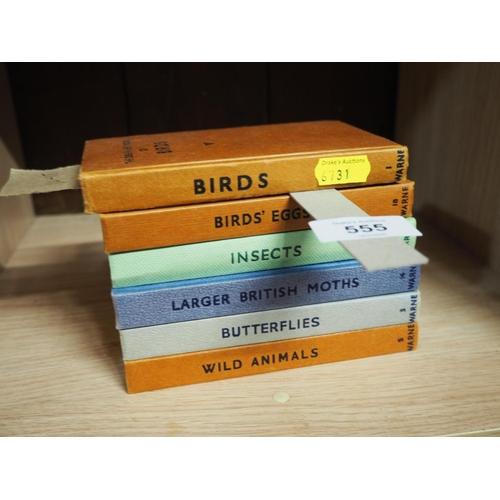 555 - 6 observers books...